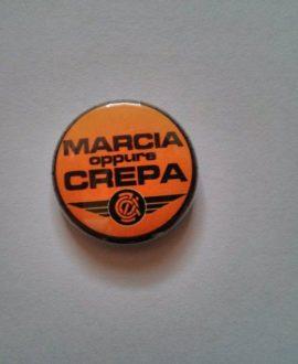 Spilla - Zetazeroalfa - Marcia oppure crepa