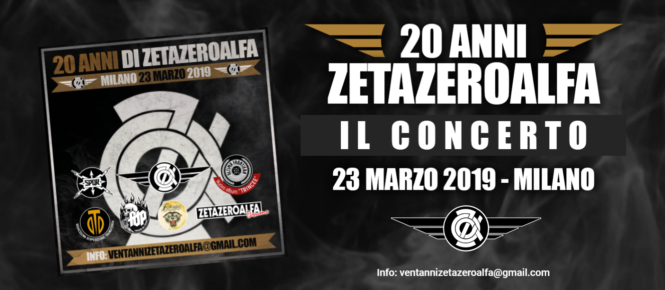 Video del concerto a Milano il 23/3/2019
