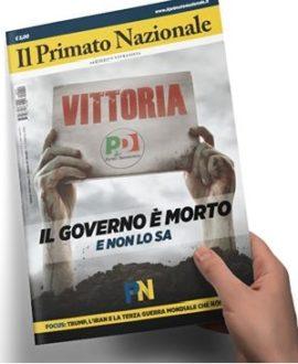 Primato Nazionale n°29 - Il governo è morto e non lo sa