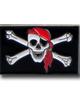 Spilla - Bandiera pirata